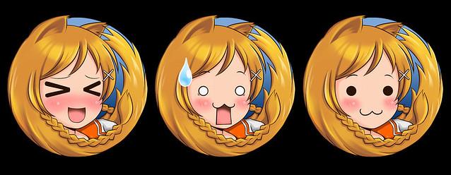 Thumb Logo de Firefox estilo animé, manga