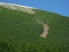 La valanga Serra del Prete 2010