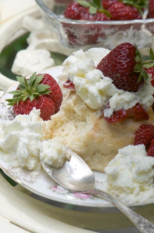 Old-Fashioned Strawberry Shortcake - Fresh