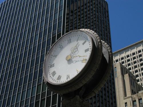 Hong Kong and Shanghai Bank Street Clock