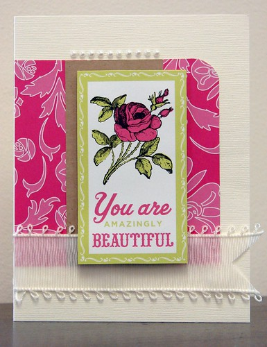 You Are Amazingly Beautiful Card