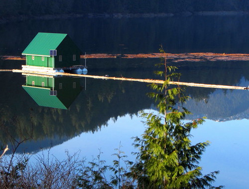 Vancouver's Capilano Reservoir and Cleveland Dam hold fresh water collected from rain and snow-melt