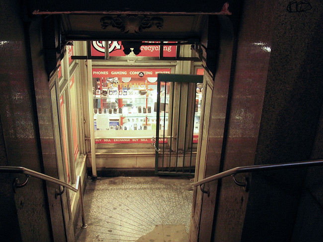Subway Entrance, NYC