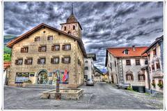 Bergn GR (ponte1112) Tags: geotagged schweiz switzerland nikon suisse platz brunnen albula hdr sigma1020mm graubnden photomatix tonemapped tonemapping nikonsigma photoscape geo:lat=46628961 geo:lon=9745485