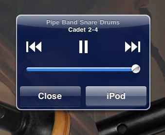 iPod Controls