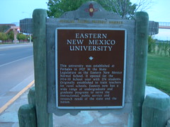 Eastern New Mexico University Marker