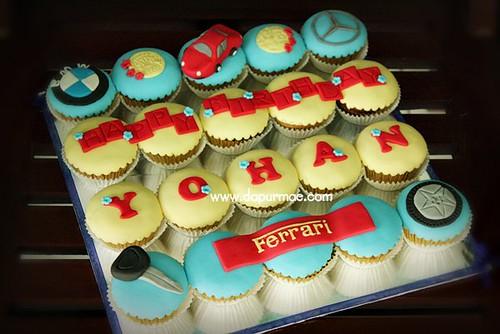 Automotive Cupcakes