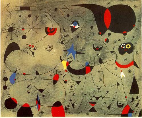 Nocturne by Joan Miro
