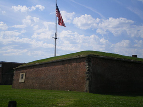 flag at Ft McHenry