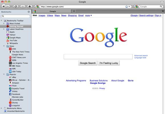 An open letter to Google: Please add a bookmarks sidebar to Chrome
