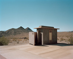 (Gebhart de Koekkoek) Tags: mamiya film architecture dessert nevada toilet wc deathvalley 6x7