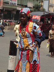 Kitenge dress (prondis_in_kenya) Tags: cold season dress kenya nairobi dry elegance kitenge