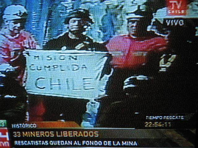 Thumb Los 6 últimos rescatistas: Misión Cumplida Chile