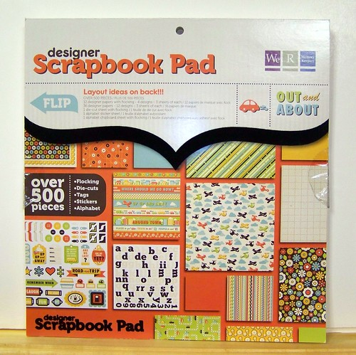Blog Candy - Scrapbook Pad