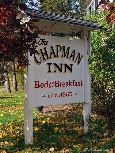 The Chapman Inn Sign