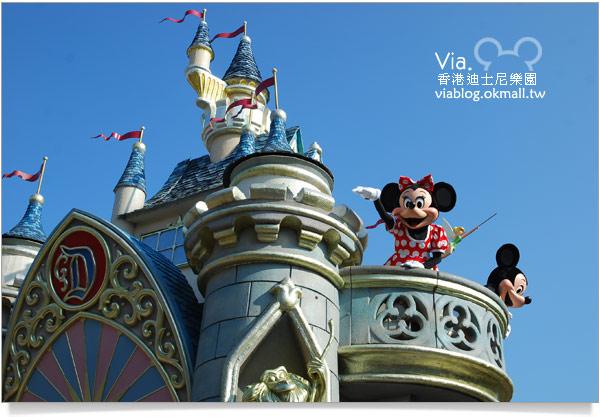 【香港迪士尼】跟著via玩香港(3)~迪士尼卡通人物歡樂巡遊51