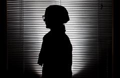 Back To Silhouettes (227/365) (Joshua Uhl) Tags: light portrait art silhouette self canon eos student shadows unitedstates joshua flash creative silhouettes josh ii 2010 mcad 430 strobes uhl 430ex strobist 430exii
