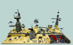 planet1 (Rogue Bantha) Tags: landscape lego space micro