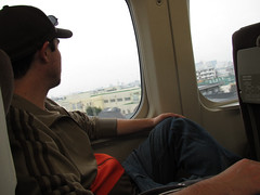 Jeff on the bullet train