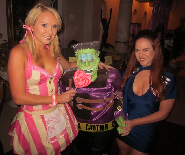 Alana Curry, Bel Air Magazine Halloween Party