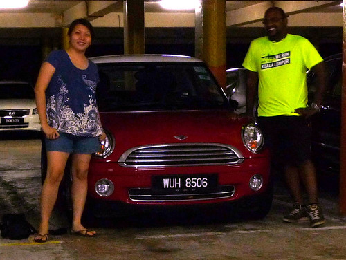 Genting Trailblazer 2010 - Suanie, Alex and the Mini