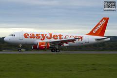 G-EZFR - 4125 - Easyjet - Airbus A319-111 - Luton - 101022 - Steven Gray - IMG_4065