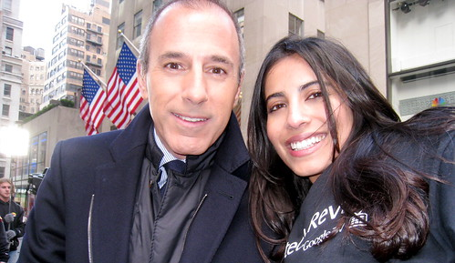 Today Show - Praneet and Matt Lauer