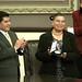 El gobernador del estado y diputados de la LVII legislatura Entregan la medalla Gilberto Bosques al poeta Gilberto Castellanos q. e. p. d. y a Alicia Tecanhuey Sandoval