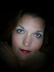 my eyes... (funkygreeneyedlady) Tags: bbw greeneyes sizenetcovergirl bbwheadshot