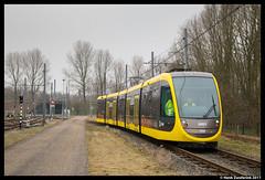 CAF 6001, Nieuwegein 25-01-2017 (Henk Zwoferink) Tags: caf 6001 gvu qbuzz uov henk zwoferink ns urbos 100 nieuwegein utrecht