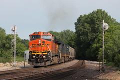 BNSF 608 (CC 8039) Tags: bnsf csx trains ac44cw c449w es44ac searchlight signal savanna illinois