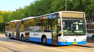 GVB Amsterdam Mercedes Citaro city bus number 353