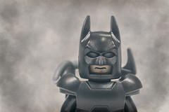 I'm Batman (Pertinan) Tags: macro people face statuette stilllife darkknight batman brucewayne fog smoke hazy lego