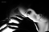Ilaria (alph.photo) Tags: portrait monochrome monocromo biancoenero model modella beauty italian italiana girl light dark intimate eye occhi