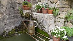 Brunnen in Brantes (krieger_horst) Tags: frankreich brantes