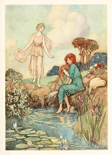 026-El pajaro azul-The fairy book  the best popular fairy stories -Goble Warwick 1913