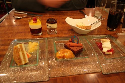 Dessert Tasting Menu (Aria Buffet)