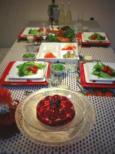 我が家のクリスマスディナー。