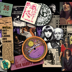 70s re visited (Fusty Box) Tags: yes fanny elo gong johnpeel obscure arthurbrown jethrotull jeanlucponty alexharvey 70smusic stackridge bridgetstjohn curvedair motiffe dandelionrecords