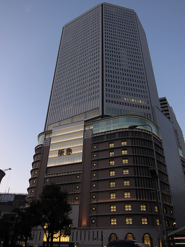 new building of Hankyu Department Store