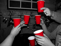 Remember: It's Not A Party Without Red Plastic Cups (Chicago Man) Tags: red usa color cup beer america fun hands ode drink plastic celebration cups drinks solo celebrating selective redcups plasticcups redpartycups redsolocup redplasticcups partycups