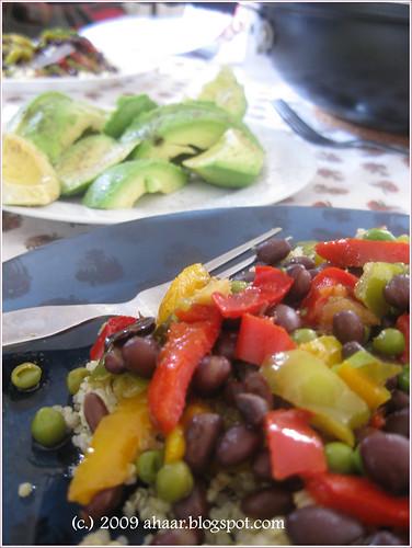 beans-w-quinoa