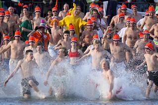 Nieuwjaarsduik in Houten 2010 / New Year's Dive