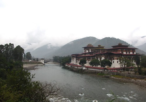 the dzong at the confluence