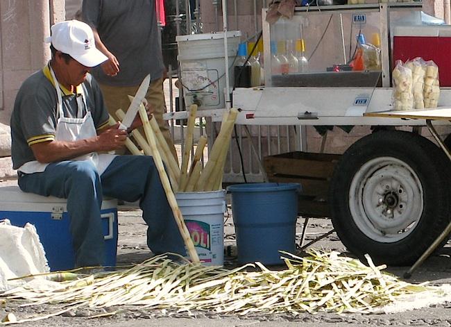 Sugarcane street Vendor