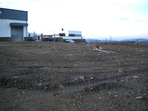 What are we building in front of our winery?