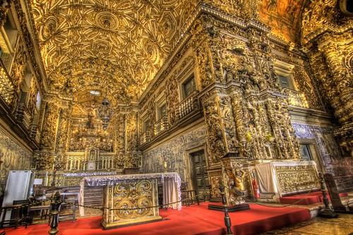 Inside Igreja de Sa?o Francisco