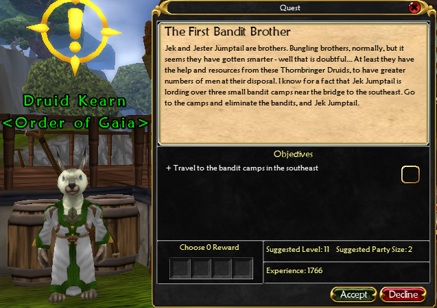 Anglorum / Quest / The First Bandit Brother (Jek Jumptail) 4252187107_730269ea3c_o