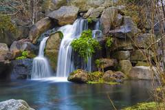 Rainbow Creek (jimharmer) Tags: longexposure mountains water creek river waterfall pond rocks stream boise mknaturecenter idahofishandgame idfg