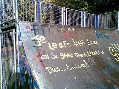 skatebaan wijsheid